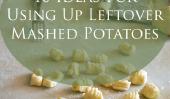 10 idées pour l'utilisation de pommes de terre en purée Up Leftover