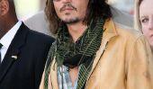 """Johnny Depp: """"Je fais des films seulement pour mes enfants"""" (Photos)"""