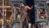 Un Torse nu Johnny Depp sur le tournage de The Lone Ranger - Oui, vous êtes les bienvenus