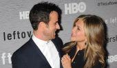Jennifer Aniston et Justin Theroux dans l'amour sur le tapis rouge