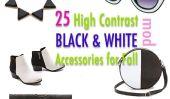25 High Contrast Black & White Accessoires pour l'automne