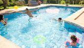 Combien de chlore dans la piscine est nécessaire?