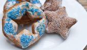 Star-Shaped Fourth of July trous de beignet et Anneaux
