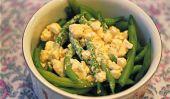 Haricots verts parfaits avec Feta pour Thanksgiving