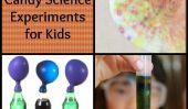 Sciences cours sucre: expériences Halloween Bonbons pour les enfants