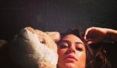 Actrice brésilienne Thaila actions Ayala James Franco en Bed Instagram Photo, étincelles Rencontre rumeurs