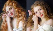 Rencontre avec l'artiste qui a tourné portraits classiques en selfies magnifiques