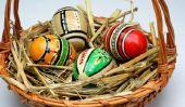 Cartes de Pâques tinker - plan d'ensemble avec les élèves de l'école élémentaire
