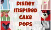 24 cake pops extraordinaire Inspiré par les Personnages Disney