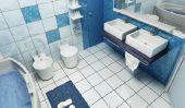 carreaux de salle de bain sur le bâton - comment cela fonctionne: