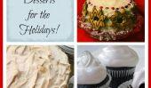 7 Fluffy et festive Desserts pour les Fêtes!