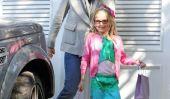 Gorgeous!  Les filles de Jennifer Garner Dress Up pour une partie de fée (de Photos)