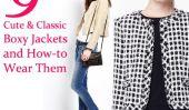 9 Cute & Classique Vestes & Boxy Comment-les porter