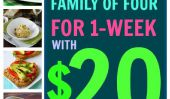 Comment nourrir votre famille avec seulement 20 $ pour une semaine entière