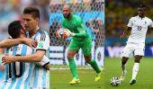 Coupe du Monde de la FIFA Round 16: Quels continents ont la plupart des pays de gauche au Brésil?