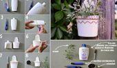 Recyclage Creative - Tutorial Utilisation de bouteilles en plastique