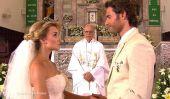Angelique Boyer & Sebastián Rulli Relation rumeurs: Boyer Censément la recherche d'une robe de mariée Mitzy