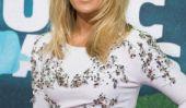 Carrie Underwood se brise en voiture après le verrouillage 4-month-old intérieur