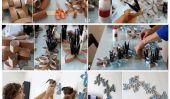 DIY Project: toilettes Art Rouleau de papier mur