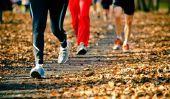 Avant de jogging étirement ou après?  - Faire à droite