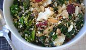 Salade de quinoa et Kale et feta