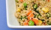 Confetti Salade de quinoa - A grains entiers Recette enfants vont adorer