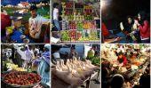 Les vendeurs de rue alimentaires du monde entier