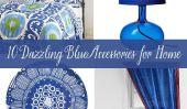 10 éblouissant Bleu Accessoires pour la maison