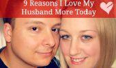 9 raisons je aime mon mari Plus Aujourd'hui