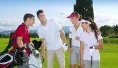 Golf - jouer mieux droit de la balle