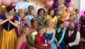 Fête d'anniversaire, bal, de mariage et: Parents Throw Epic Bash pour une-Year-Old 5 avec le cancer