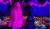 Tori Spelling: Glow In The Experience foncé bricolage Art avec ses enfants (Photo)