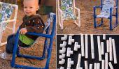 Chaises Toddler faite de tuyaux en PVC