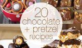 20 Chocolat et Pretzel Recettes To Die For!