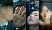 Portraits de navetteurs écrasé au Japon par Michael Wolf