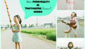 15 Photos comiques d'une petite fille avec une grande personnalité dans la série «Photogenic Princess '