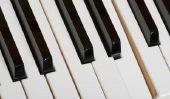 peinture Piano - que vous devriez être au courant