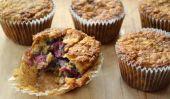 Raspberry Muffins à l'avoine de Cookie