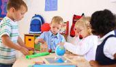 Que doit faire un enfant d'âge préscolaire peut?