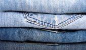 Taille 7 dans le pantalon - ils diffèrent vêtements Dimensions