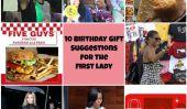 Joyeux anniversaire, Michelle Obama!  10 idées de cadeaux pour la Première Dame