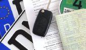 Trouver le numéro de la clé dans le certificat d'immatriculation du véhicule - alors assurez-vous de vérifier le droit d'immatriculation du véhicule