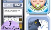 7 applications iPhone pour les nouveaux parents