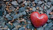 Comment faites-vous un cœur de pierre ollaire?  - Un Bastelanleitung