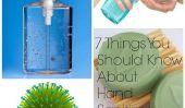 7 choses que vous devriez savoir à propos Hand Sanitizer
