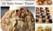 25 Salty-Sweet Treats, pour le meilleur des deux mondes!