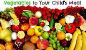5 raisons essentielles à mettre des fruits et légumes au repas de votre enfant