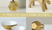 15 Parfaitement or Home Accents