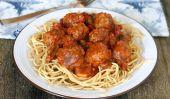 Spaghetti à la Mozzarella farcies Boulettes