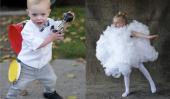 10 facile et mignon Dernière Minute bricolage d'Halloween Costumes pour les enfants
